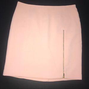 Banana Republic Skirts - Blush Banana Republuc work skirt w/ gold zipper
